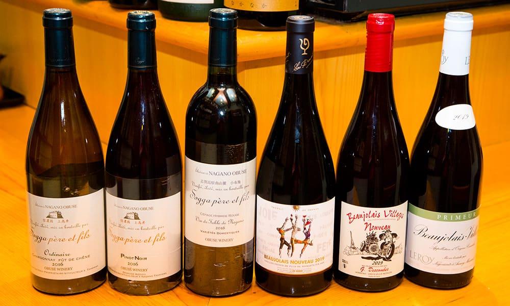 오부세 와이너리 와인 각종